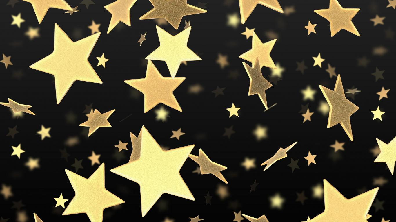 Gold Wallpapers stars