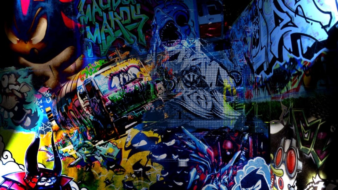 Graffiti Wallpaper Mural Pictures to Pin on Pinterest