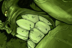 Hulk Wallpaper close up