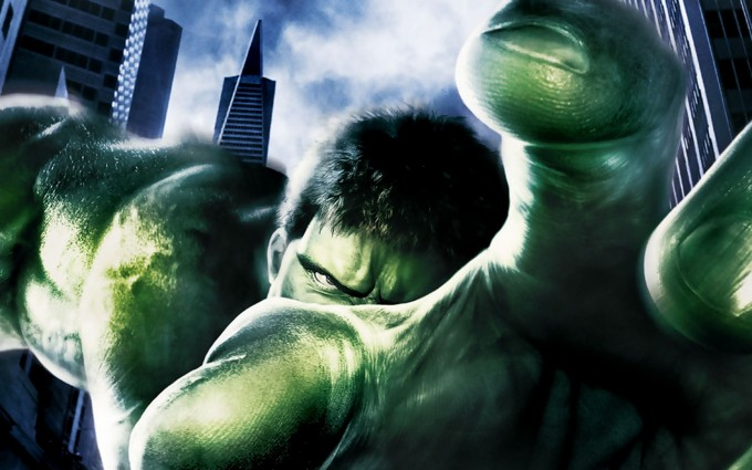 Hulk Wallpaper green