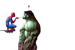 Hulk Wallpaper spiderman