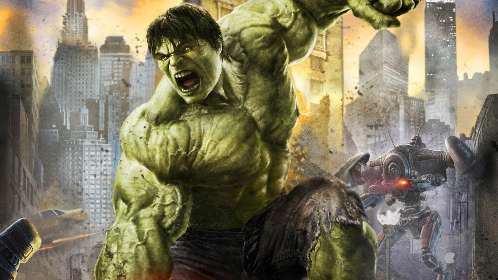 Hulk smash Wallpaper