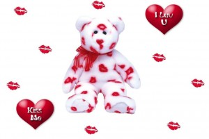 I Love You Wallpapers teddy bear kisses
