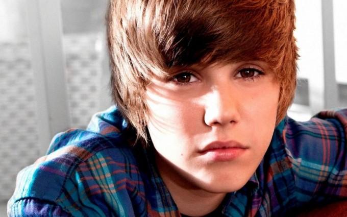Justin Bieber wallpapers checked shirt