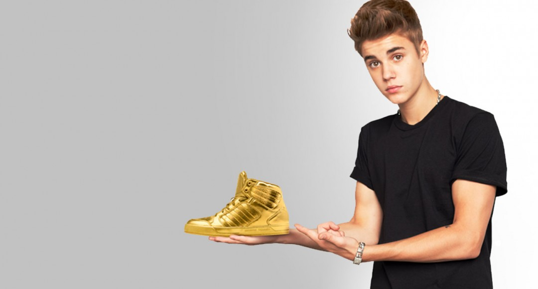 Justin Bieber wallpapers golden shoes