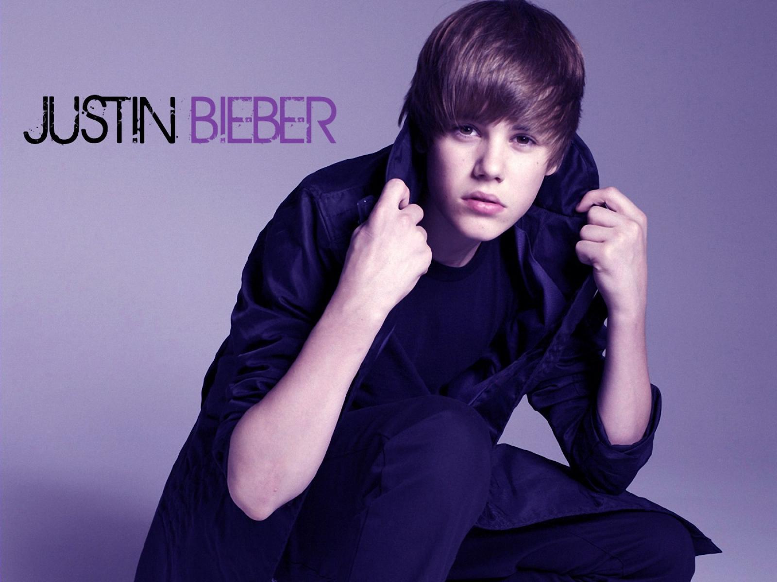 Justin Bieber wallpapers purple fonts