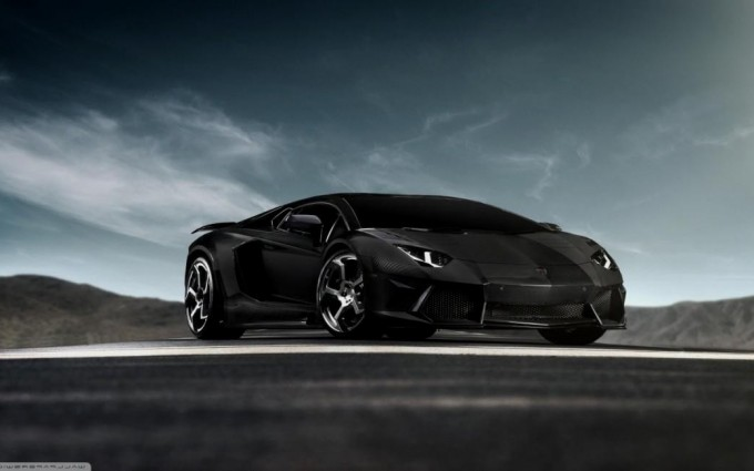 Lamborghini Aventador Wallpapers HD A16 Black - lamborghini aventador desktop sports cars, race cars, luxury cars, expensive cars, wallpapers pictures images free download