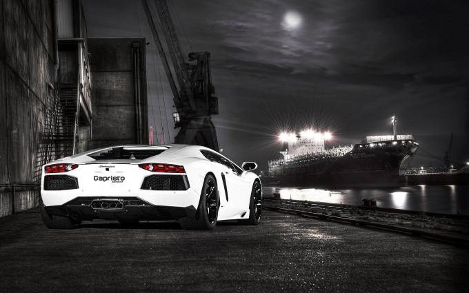 Lamborghini Aventador Wallpapers HD A21 White - lamborghini aventador desktop sports cars, race cars, luxury cars, expensive cars, wallpapers pictures images free download