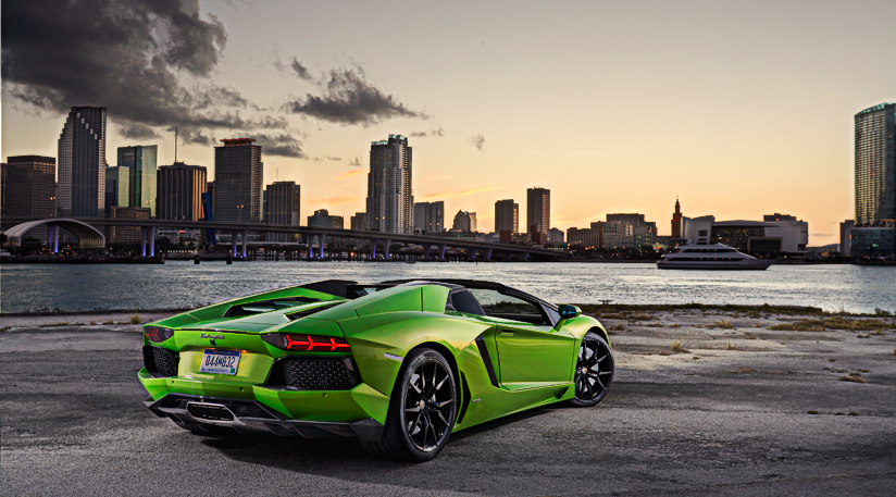 Lamborghini Aventador Wallpapers A38 - HD Background