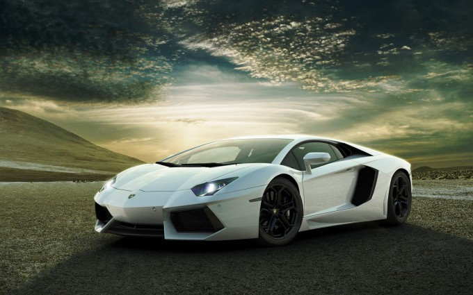 Lamborghini Aventador Wallpapers HD A43 White - lamborghini aventador desktop sports cars, race cars, luxury cars, expensive cars, wallpapers pictures images free download