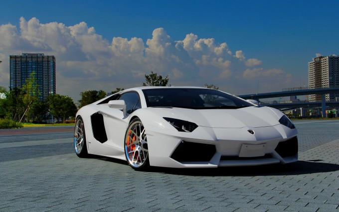 Lamborghini Aventador Wallpapers HD A45 White - lamborghini aventador desktop sports cars, race cars, luxury cars, expensive cars, wallpapers pictures images free download