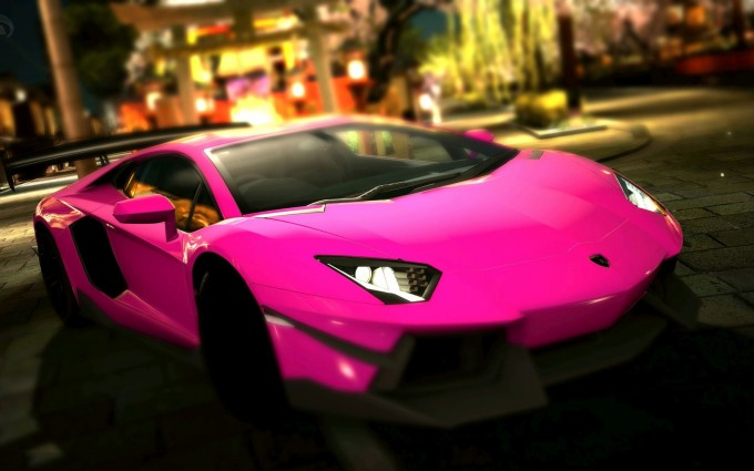 Lamborghini Aventador Wallpapers HD A9 Pink - lamborghini aventador desktop sports cars, race cars, luxury cars, expensive cars, wallpapers pictures images free download