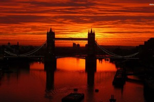 London Wallpapers HD sunset bridge