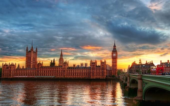 London Wallpapers HD sea bridge