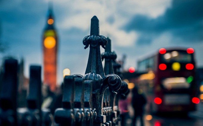 London Wallpapers HD bus clock bridge