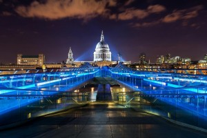 London Wallpapers HD blue