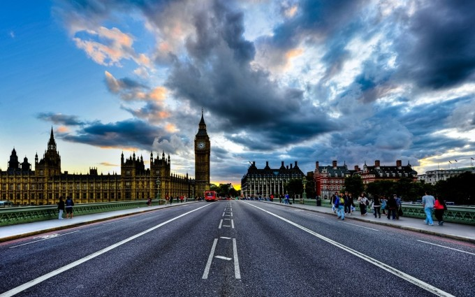 London Wallpapers HD road