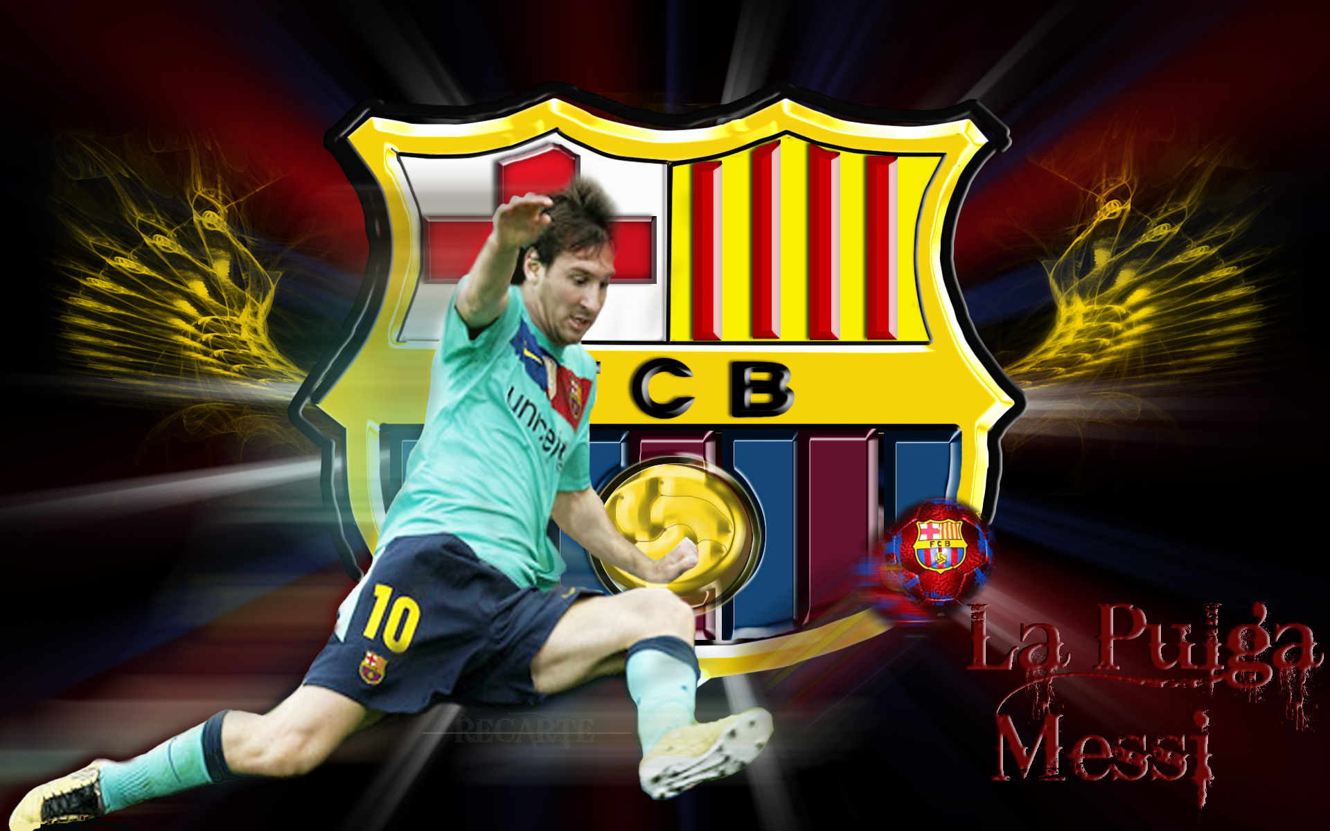 Messi Wallpaper fcb kick