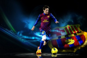 Messi Wallpaper kick