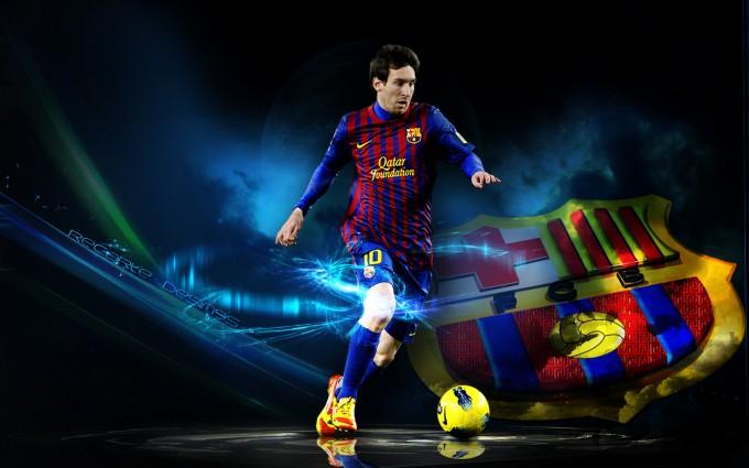 Messi Wallpaper kick