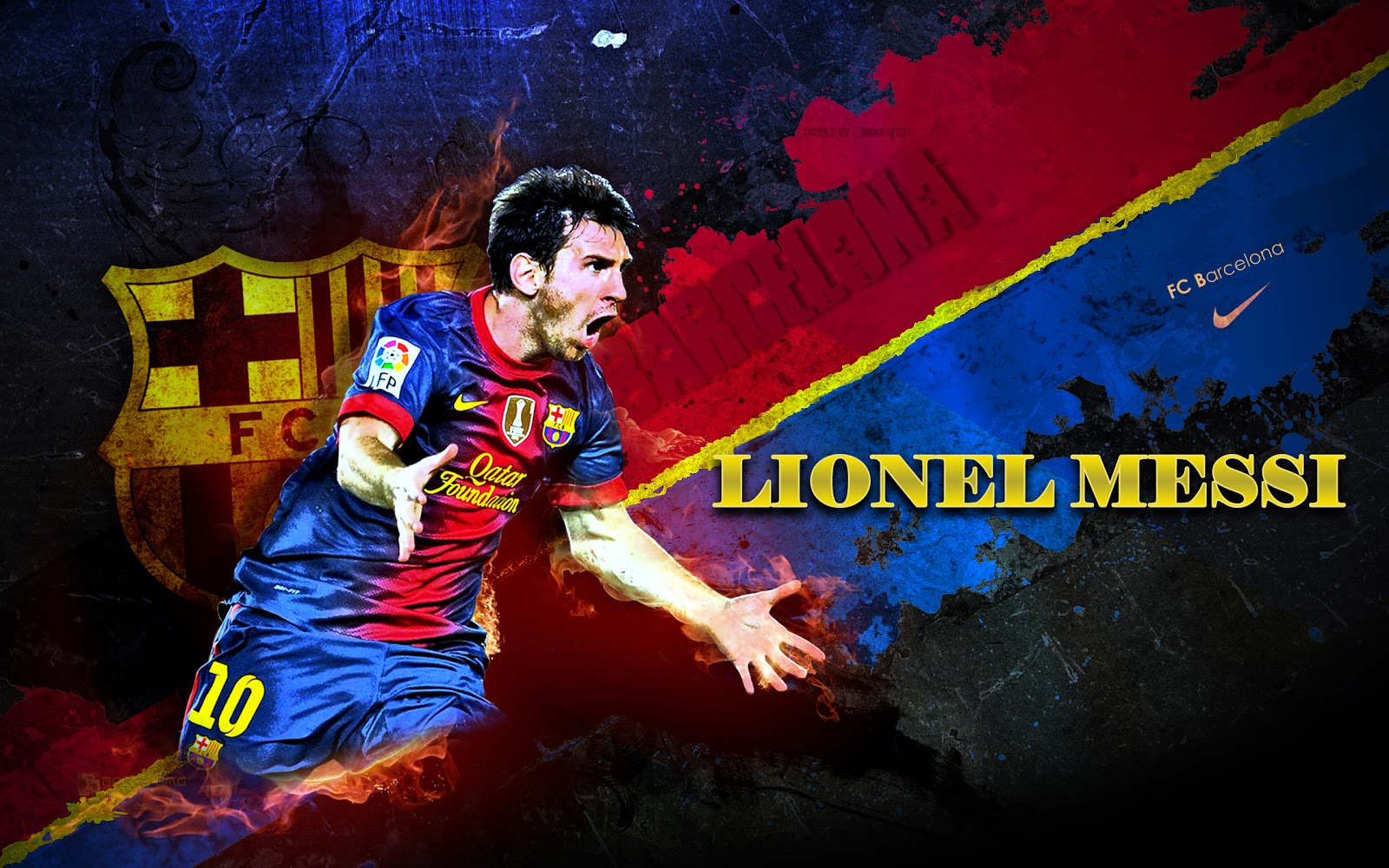 Messi Wallpaper player