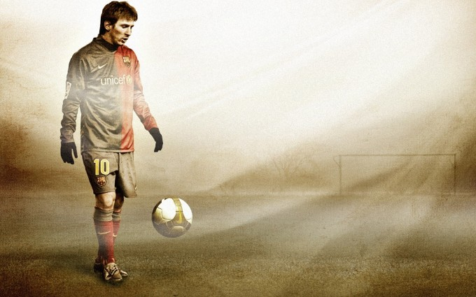 Messi Wallpaper tackle