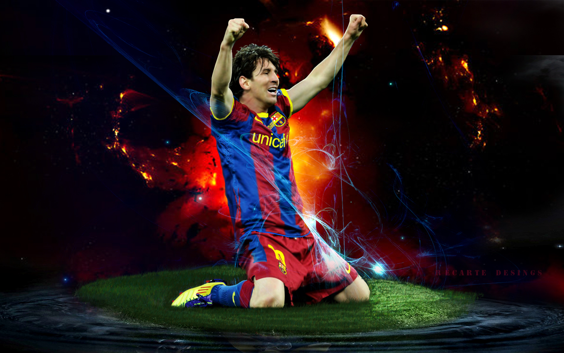 Messi Wallpaper unicef