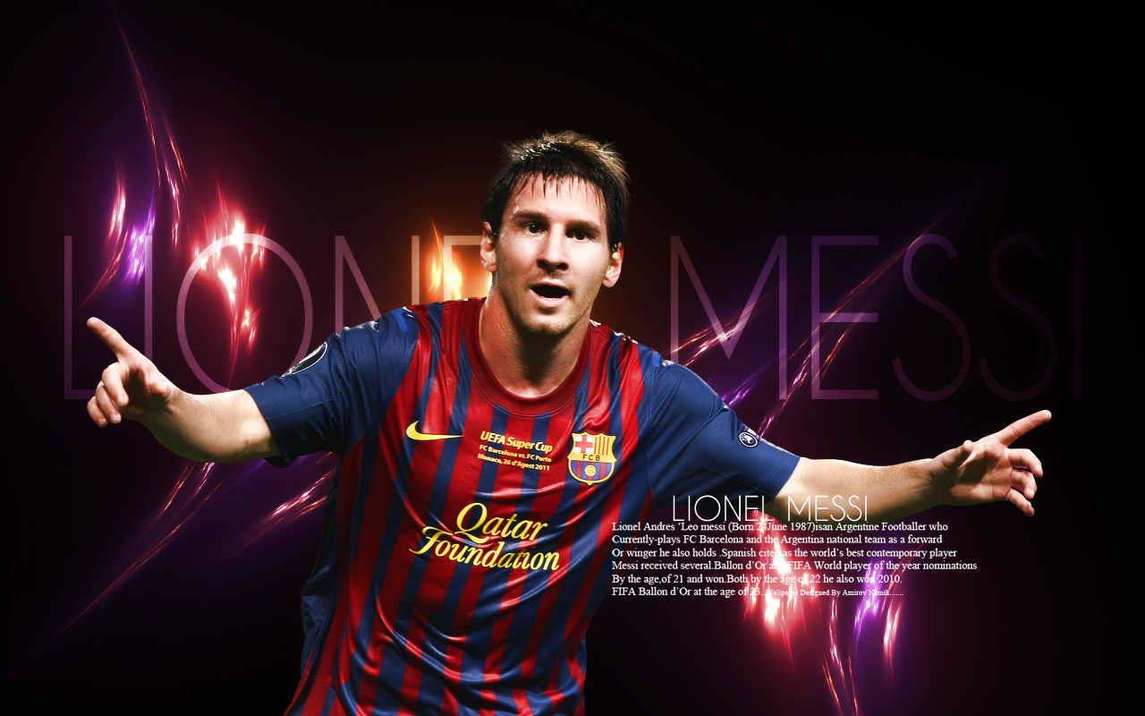 Messi Wallpaper victory