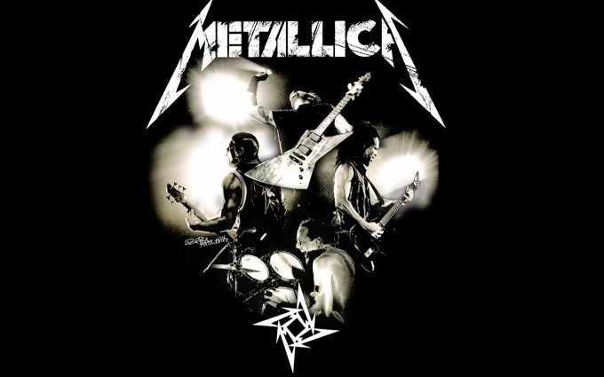 metallica wallpaper band