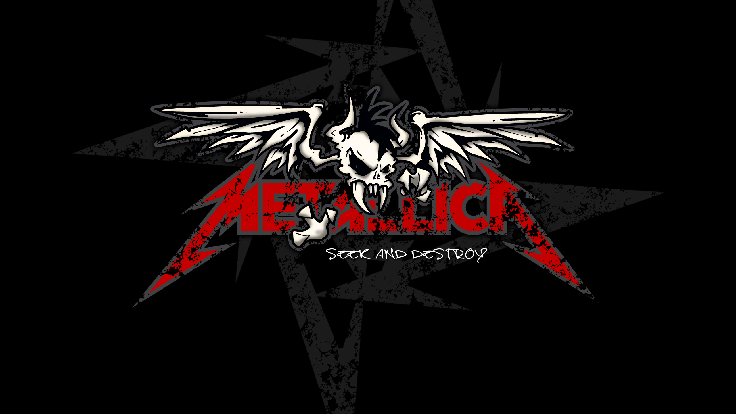 metallica wallpaper symbol skull