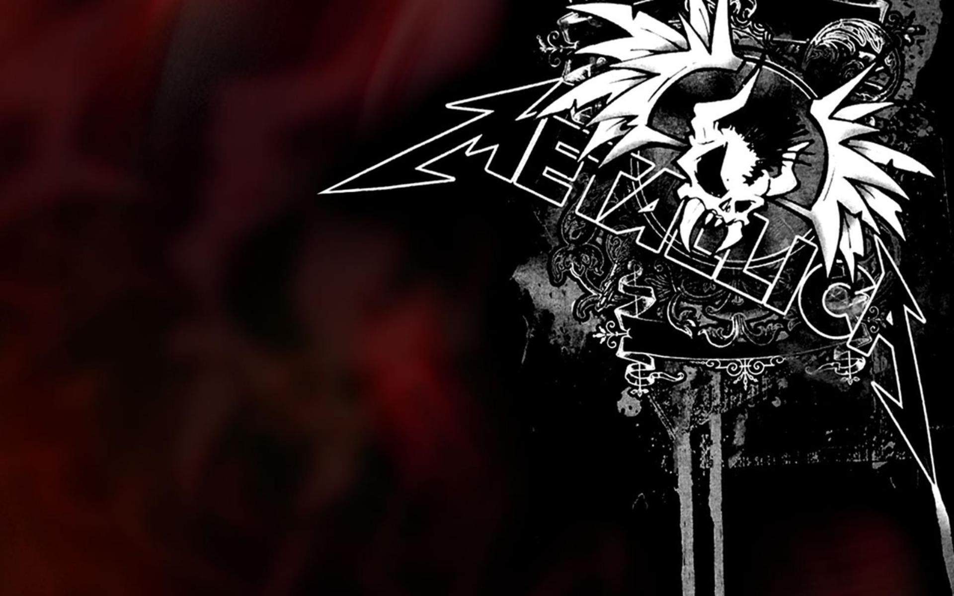 metallica wallpaper logo skull