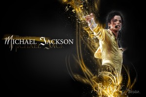Michael Jackson Wallpapers HD Golden shirt with fonts
