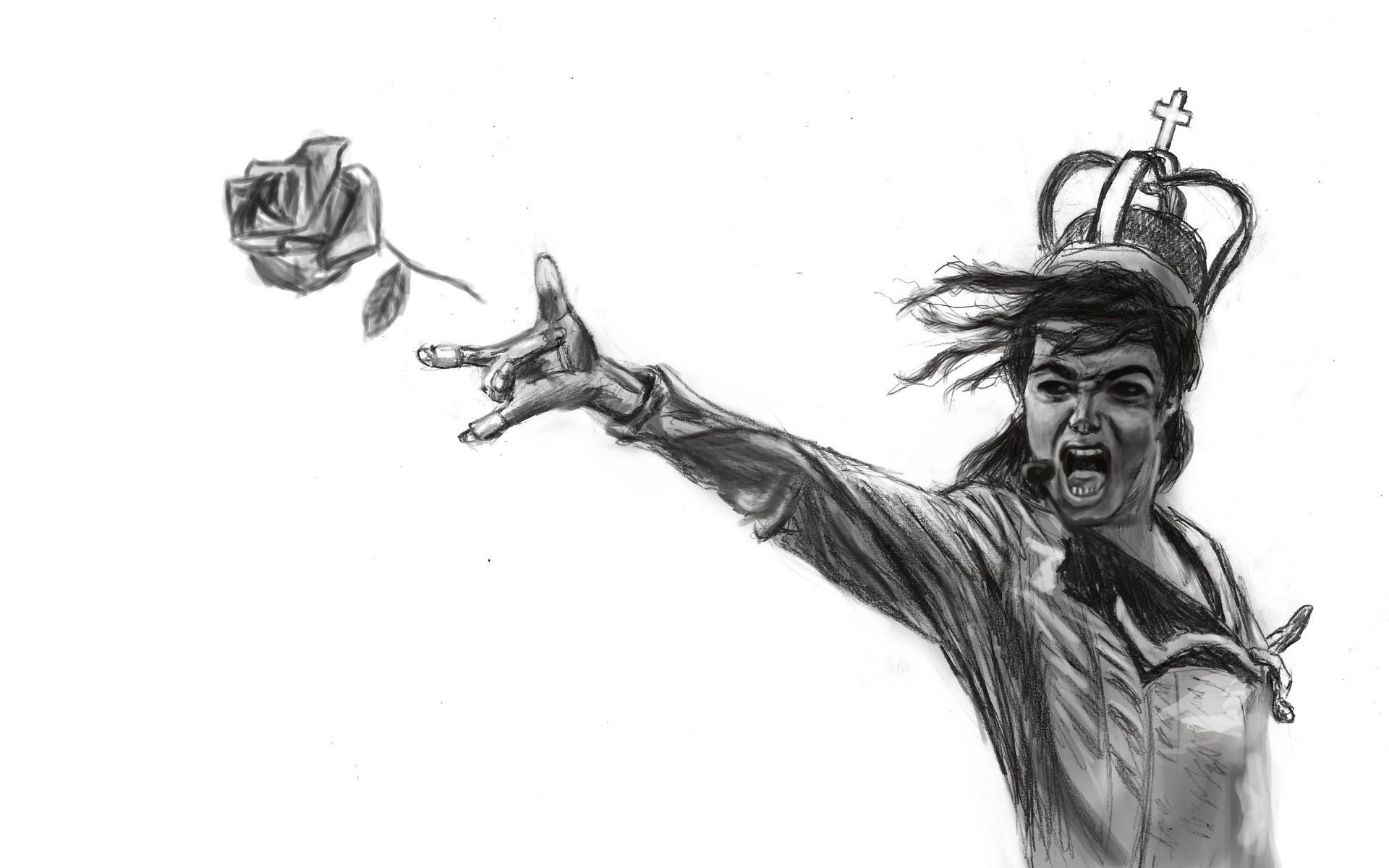 Michael Jackson Wallpapers HD sketch