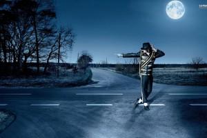 Michael Jackson Wallpapers HD moon