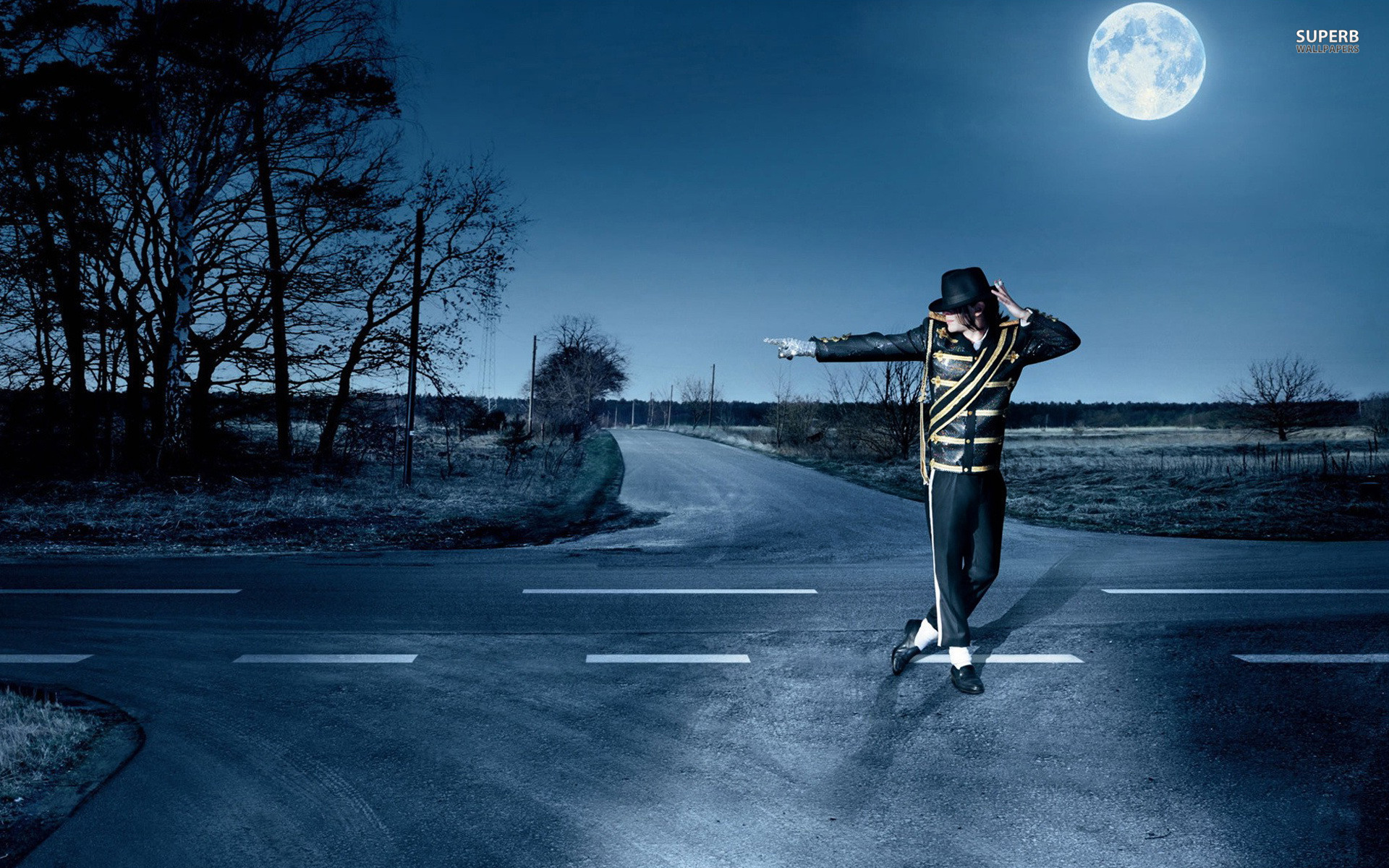 Michael Jackson Wallpapers HD moon