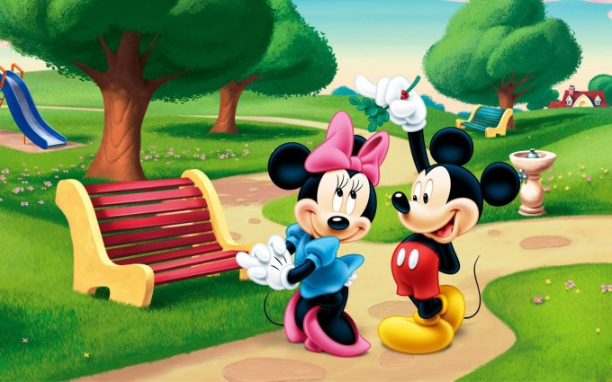 Mickey Minnie Mouse Wallpaper cute