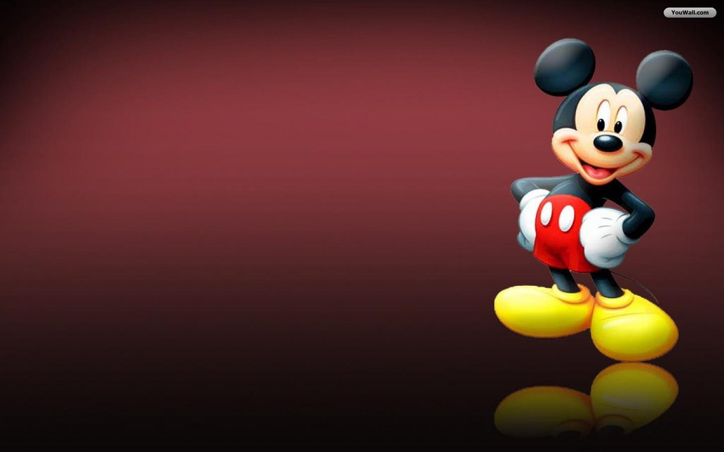 Mickey Mouse Wallpapers brown