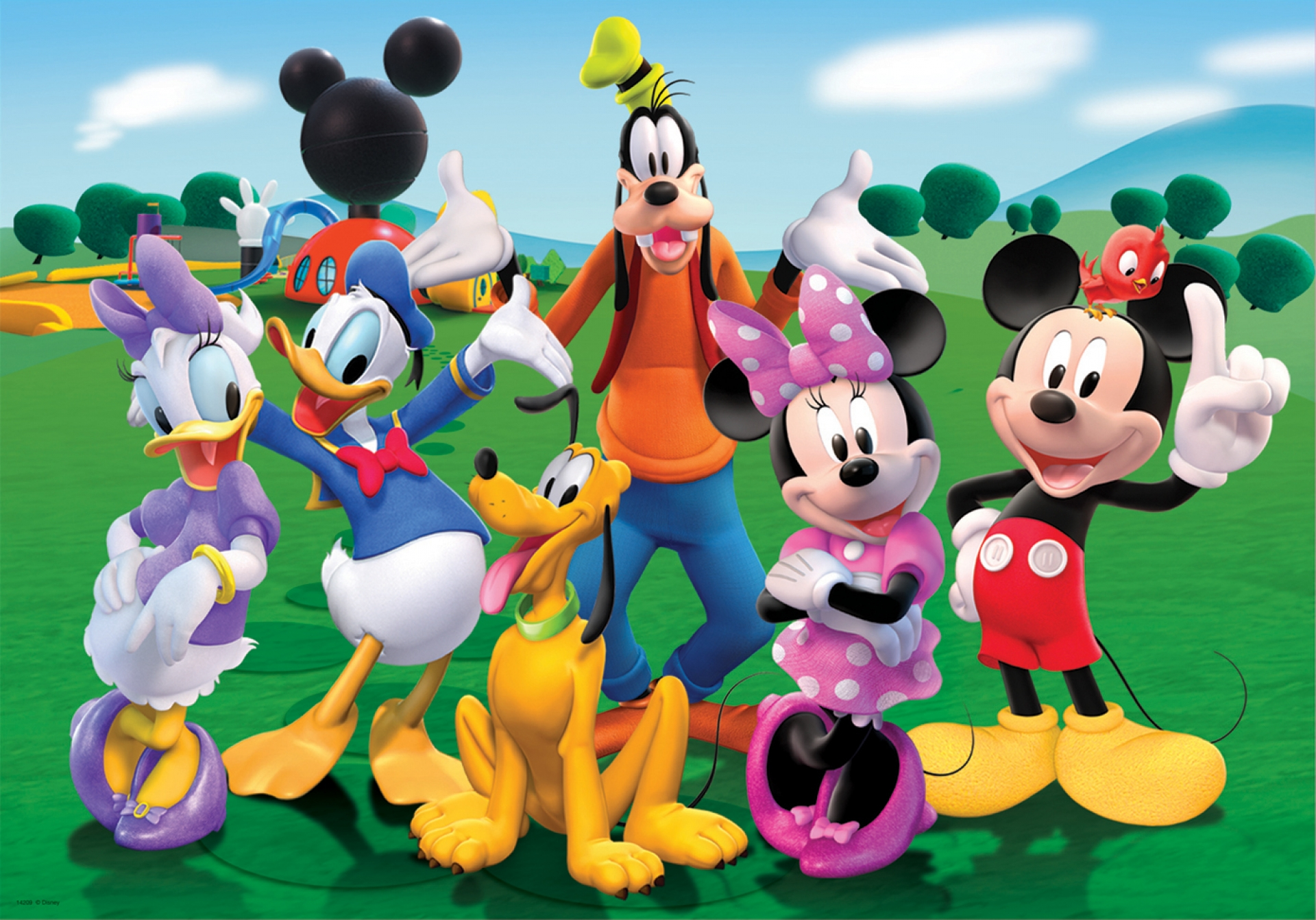 Mickey Mouse Wallpapers club house