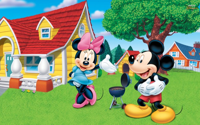 Mickey Mouse Wallpapers house