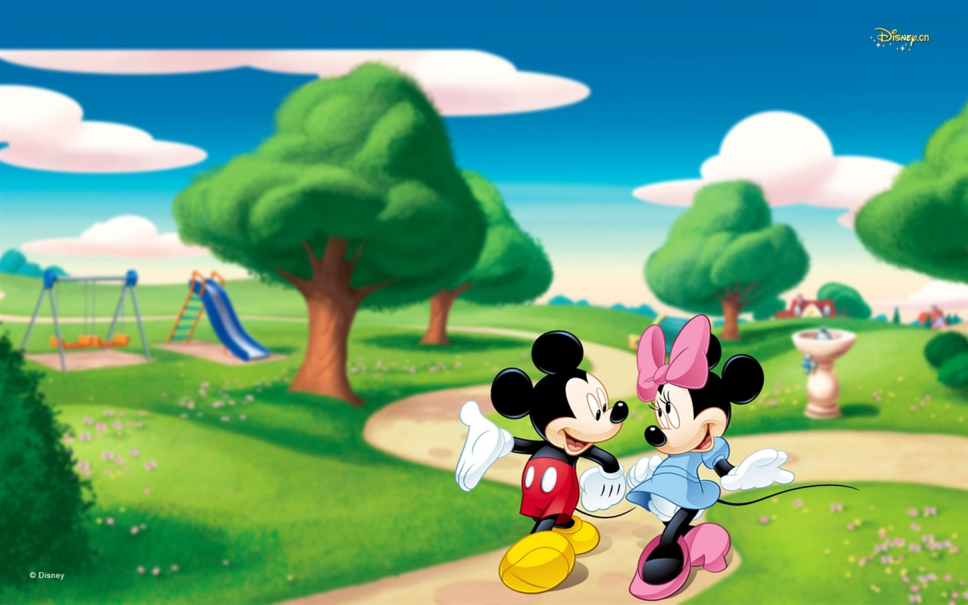Mickey Mouse Wallpapers park