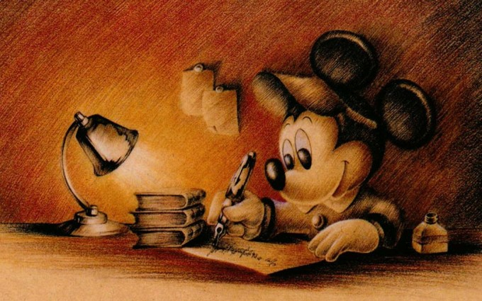 Mickey Mouse Wallpapers poetry