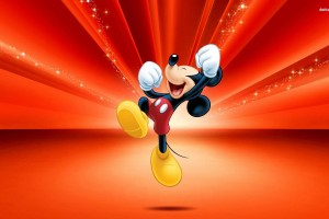 Mickey Mouse Wallpapers red