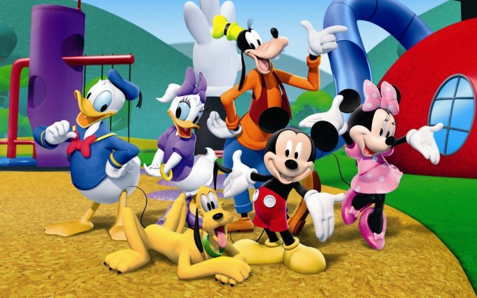 Mickey Mouse Wallpapers rollercoaster