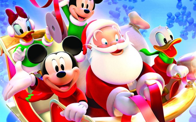 Mickey Mouse Wallpapers santa
