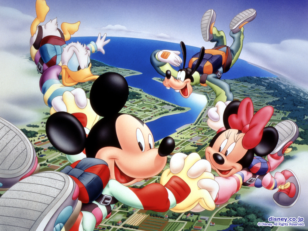 Mickey Mouse Wallpapers skyfall