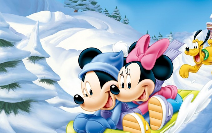 Mickey Mouse Wallpapers snow