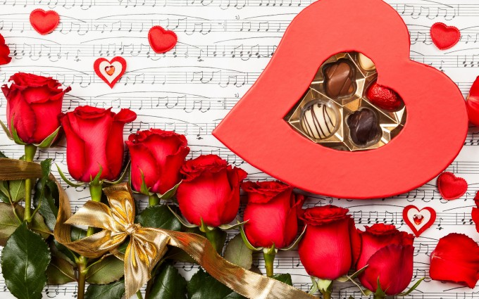 Red Roses Wallpapers HD A39 love music