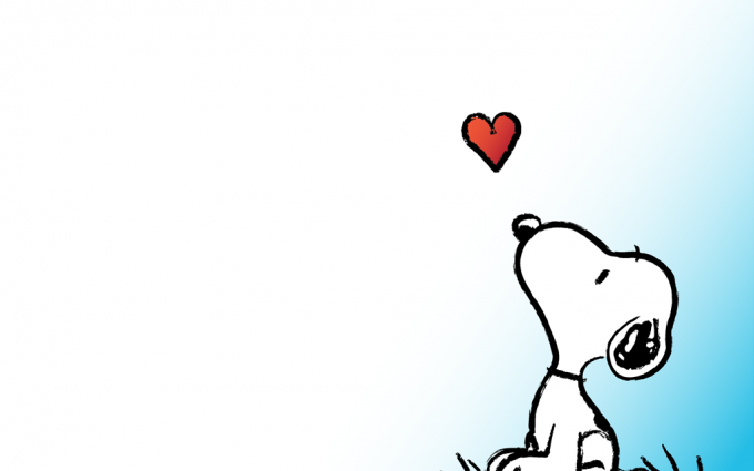 snoopy valentine wallpaper HD