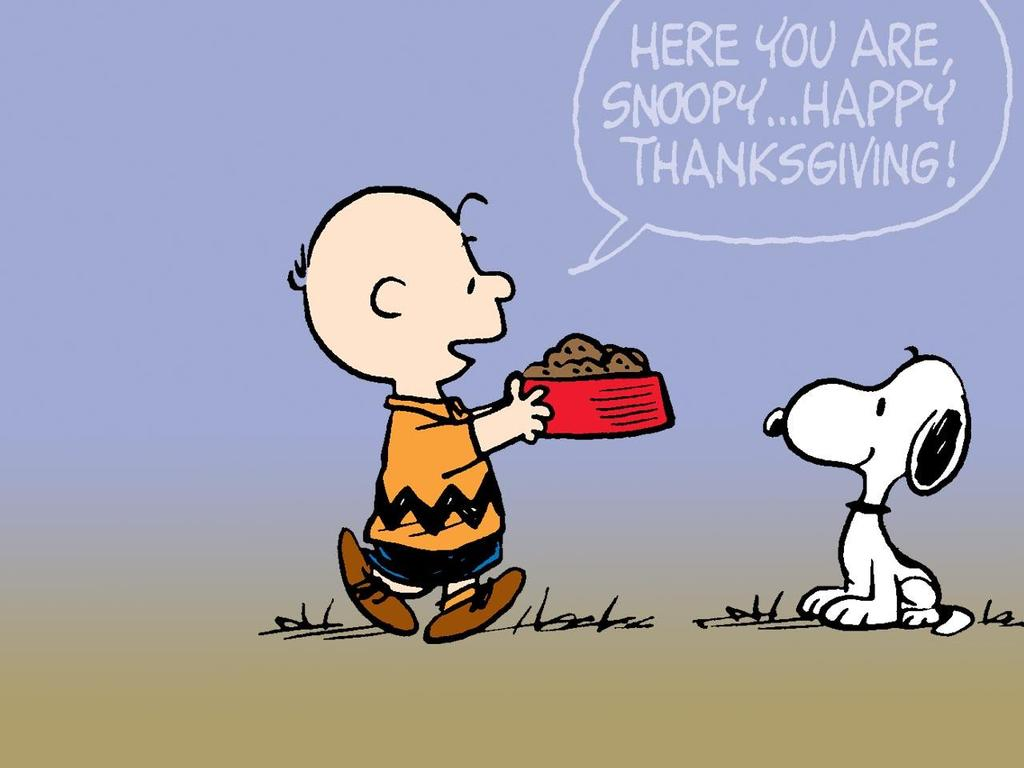 snoopy thanksgiving wallpaper HD