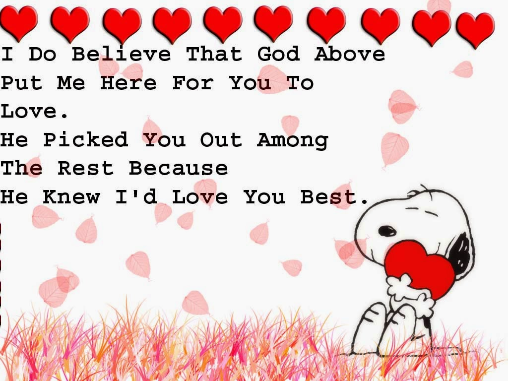 Snoopy Wallpapers HD valentine love